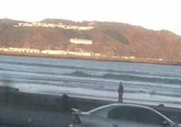 Lyall Bay webcam at surf2surf.com